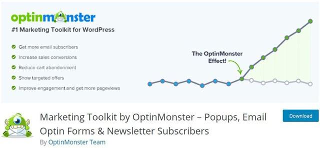 OptinMonster Marketing Plugin WordPress