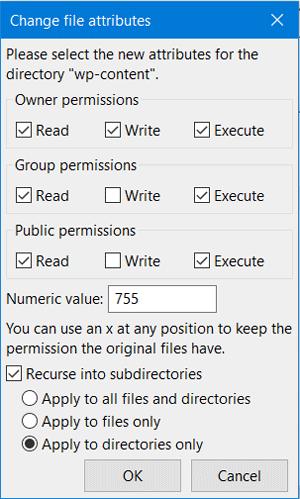 Set Folder Permission